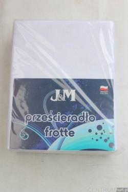 Prześcieradło frota (90x220) FIRMA J&M V27-06