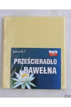 Prześcieradło BAWEŁNA (160x200) V27-17
