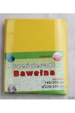 Prześcieradło bawełna (200x220) V27-19