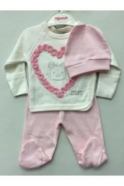 Komplet niemowlęcy (50-56) FRJ 18297