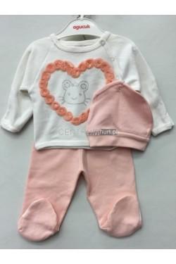 Komplet niemowlęcy (50-56) FRJ 18297A