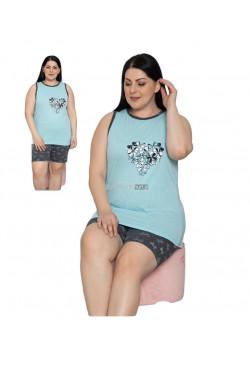 Piżama damska Turecka (L-4XL) 5905