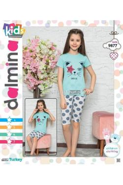 Piżama dziewczęca Turecka (4-7) 9877