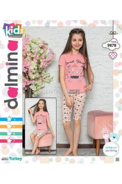 Piżama dziewczęca Turecka (4-7) 9878