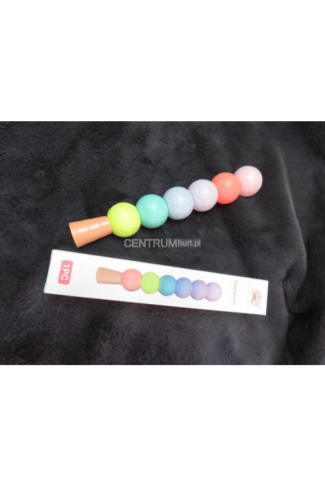 Kolorowe pisaki w kształcie kulek FAN-04