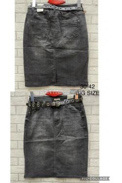 Spódnica jeansowa damska (30-42) A1621