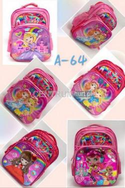 Plecak dziewczęcy A64