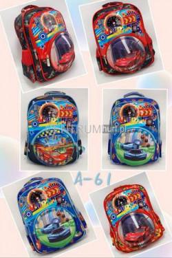 Plecak chłopięcy A61