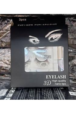 Rzęsy magnetyczne plus eyeliner 070950